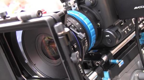 Cine Gear 2011: Letus Direct – Panasonic AF100 rig and lens mount