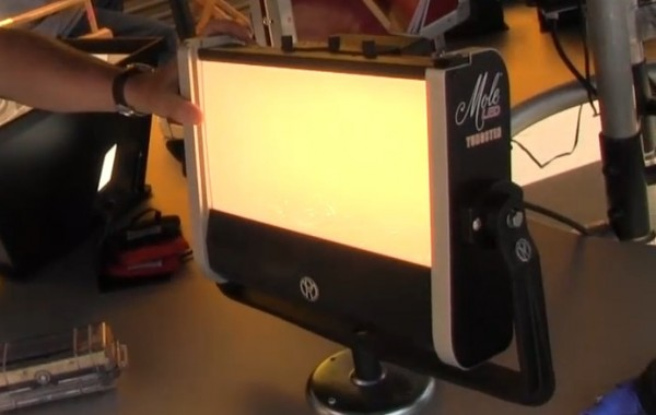 Cine Gear 2011: Mole Richardson LED lighting