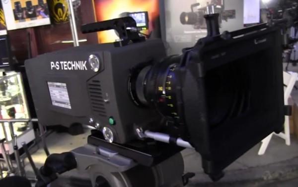 Cine Gear 2011: P+S Technik X35 Digital Cinema Camera – shoots up to 450 fps