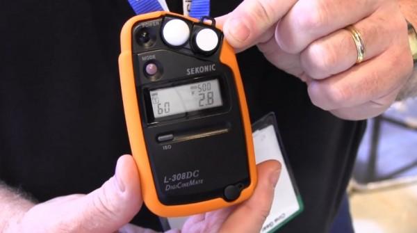 Cine Gear 2011: Sekonic L-308DC & L-758 light meters
