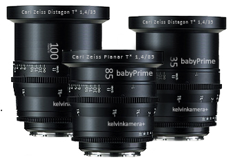 What are Zeiss Baby Primes?