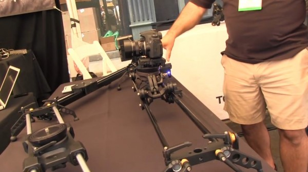 Cine Gear 2011: Cinevate prototype motion control and remote focus