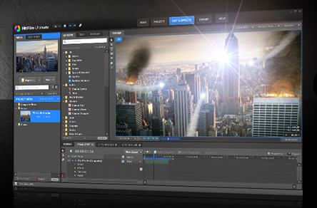 """HitFilm, new VFX and editing software, shown off in """"Prism"""" sci-fi short film"""
