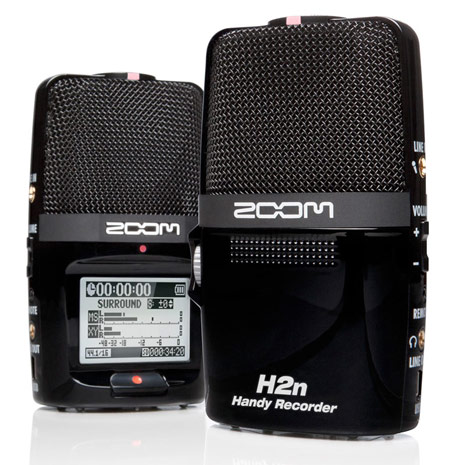 Zoom H2n portable recorder will feature five internal mics
