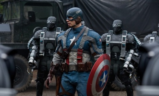 """Canon 5D MkII used in the filming of """"Captian America: The First Avenger"""""""
