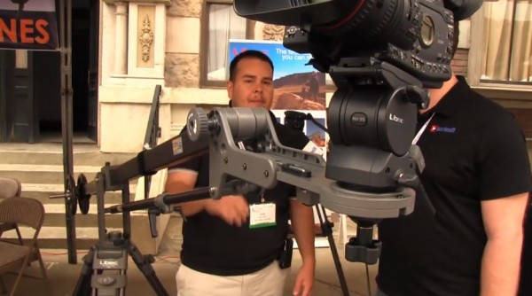 Cine Gear 2011: Libec – tripods, fluid heads, jib and dolly systems