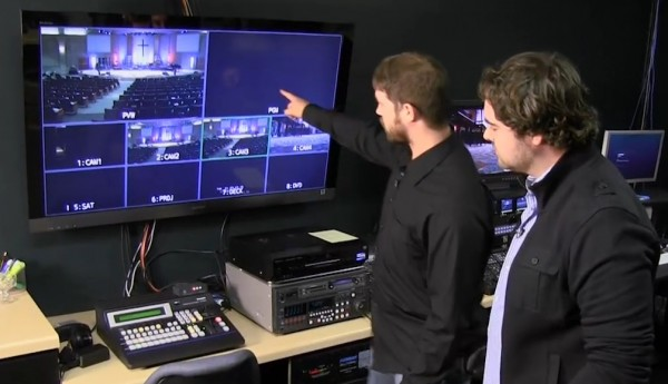 DVTV: Tour of a Multicam HD Production Studio for Live Broadcast Television