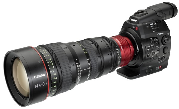 Canon finally announces a large sensor cinema camera, the C300