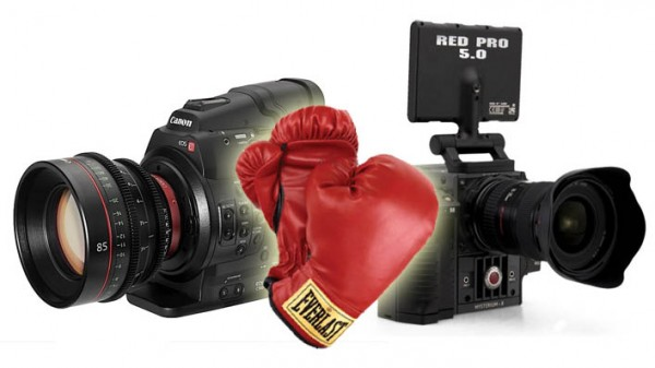 How do RED and Canon's new cameras affect the average shooter?
