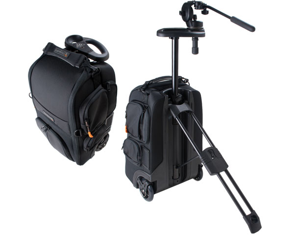Petrol Cambio combines your tripod and camera bag for traveling shooters