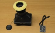 SmallHD DP4 EVF New Eye Cup and Blue Star Eye Cushion