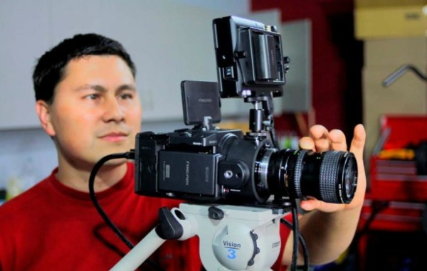 Parfocal zoom lens shootout on the Sony FS100