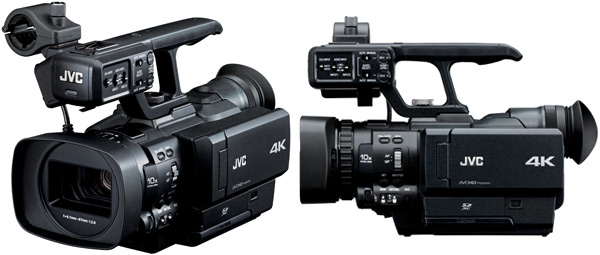 JVC announces the HMQ10, 4K camcorder for under $5K