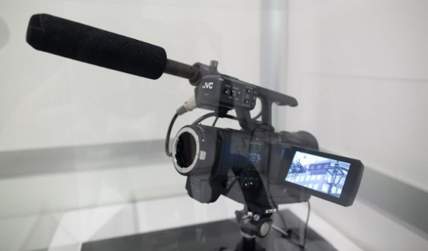 JVC hints at interchangeable lens version of their 4K camera