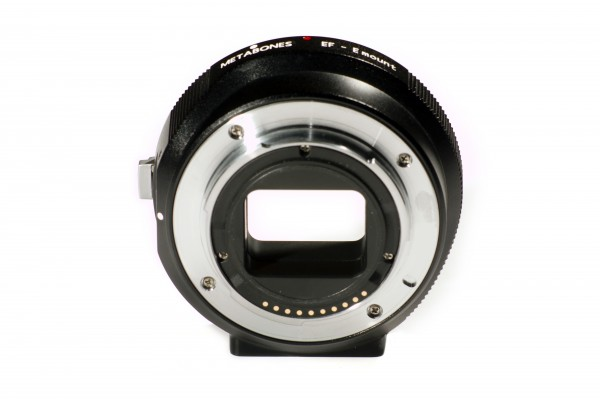 Metabones and Conurus announce Canon EF to Sony NEX E-mount smart adapter