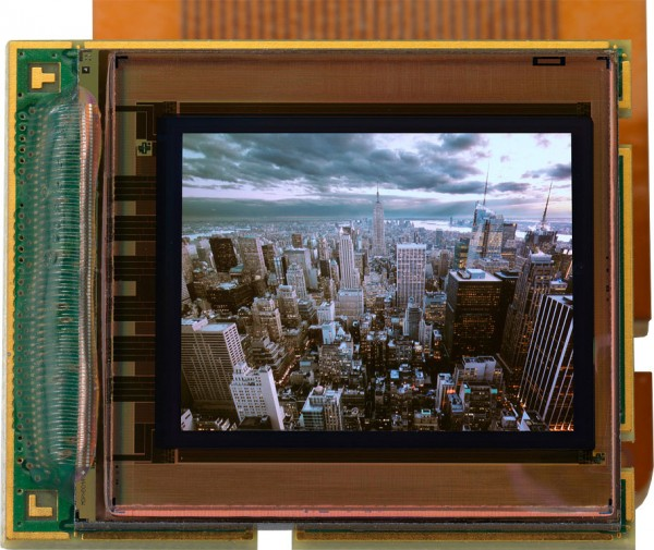 MicroOLED display will blow away all other EVF screens