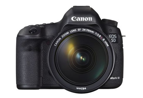 IT'S OFFICIAL! Canon unleashes the EOS 5D Mark III