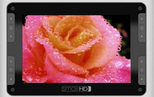 NAB 2012: SmallHD DP7 Future OLED HD Monitor, HDMI Lock for Canon 5D Mark II