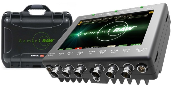 NAB 2012: Convergent Design Intros Gemini Raw 4k Capture