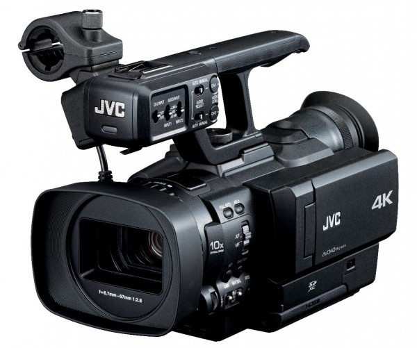 NAB 2012: JVC Releases 4K Camera & New 600 Series Camera