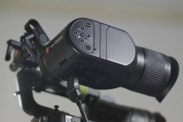 NAB 2012: Kinotehnik LCDVFe Electronic Viewfinder with Smart Shutoff