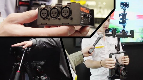 "NAB 2012: ""The Missing Ones"" – Manfrotto, JuicedLink and Delkin Devices"