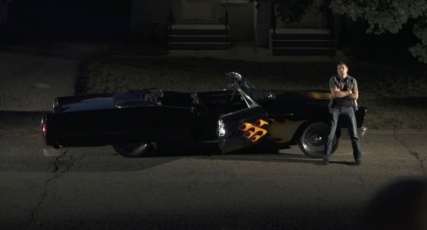 Film Scene: Lighting a night car reveal