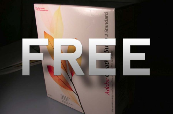 Adobe gives away Photoshop, Premiere and the rest of Creative Suite CS2 for FREE? [UPDATE]