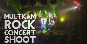 Multicam Rock Concert Shoot