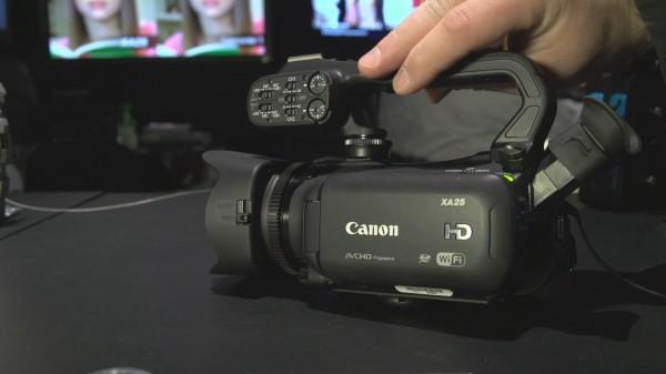 NAB 2013: Canon XA20/25