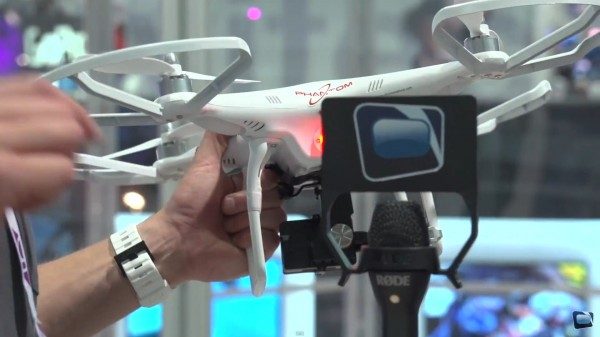 NAB 2013: DJI Phantom Quadcopter and Zenmuse Hero for GoPro Hero3