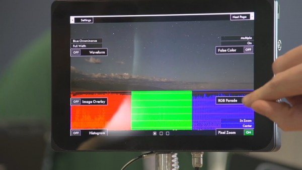 NAB 2013: SmallHD DP7 OLED & Hight Bright monitors