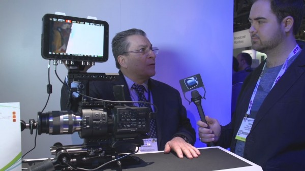 NAB 2013: Sony NEX-FS700 4K, S-Log, 240fps 2K continuous