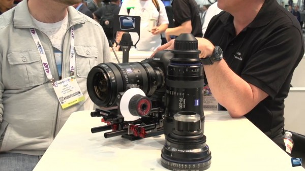 NAB 2013: Zeiss Compact Zoom CZ.2 and CP.2 Lenses