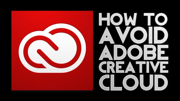 DVTV: How to Avoid Adobe Creative Cloud