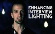 Film Scene: Enhancing Interview Lighting with Household Light Bulbs