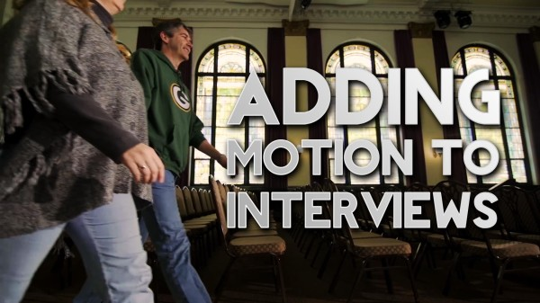 Film Scene: Adding Motion to Interviews