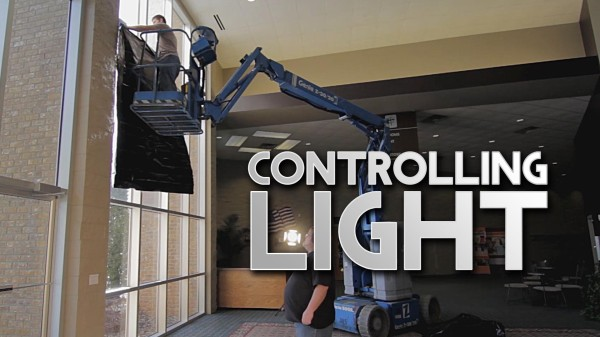 Film Scene: Controlling Light Spill With Visqueen