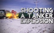 Film Scene: Shooting an Oil Tanker Explosion