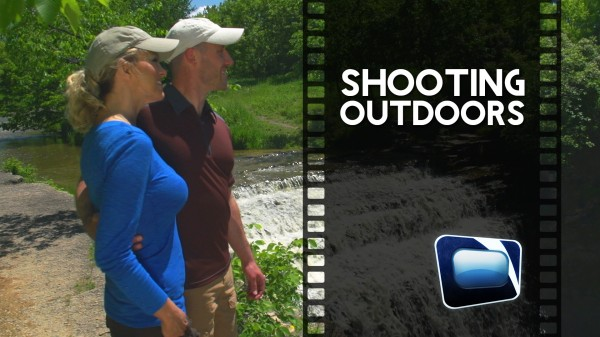Film Scene: Shooting Outdoors
