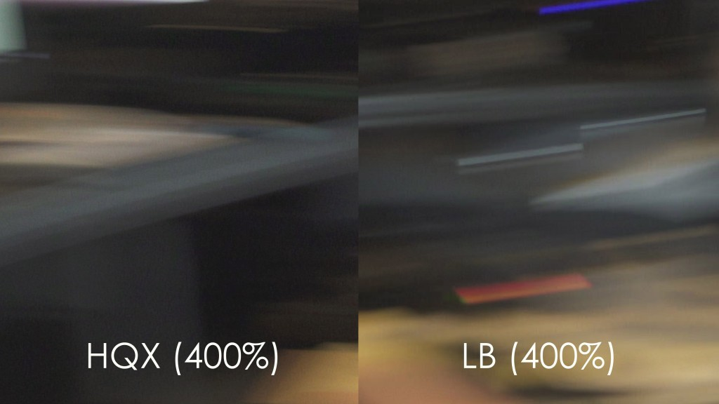 Motion Blur - vs